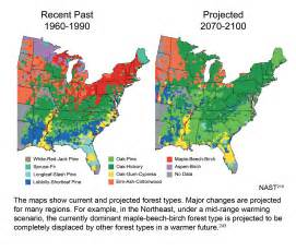 climate change map united states climate change impacts in the united states maps charts