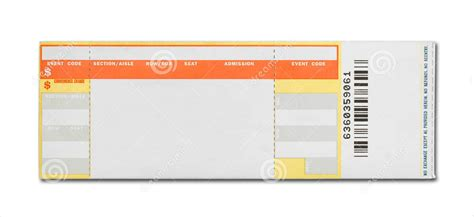 15 Concert Ticket Templates Design Trends Premium Psd Vector Downloads Blank Ticket Template