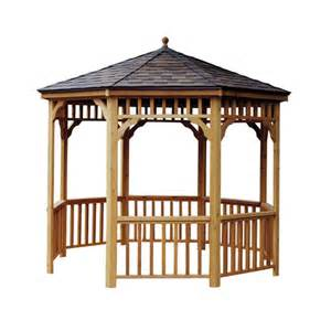 Lowes Gazebos And Canopies by Wooden Gazebos From Lowes By Cedarshed Amp Heartland Gazebos