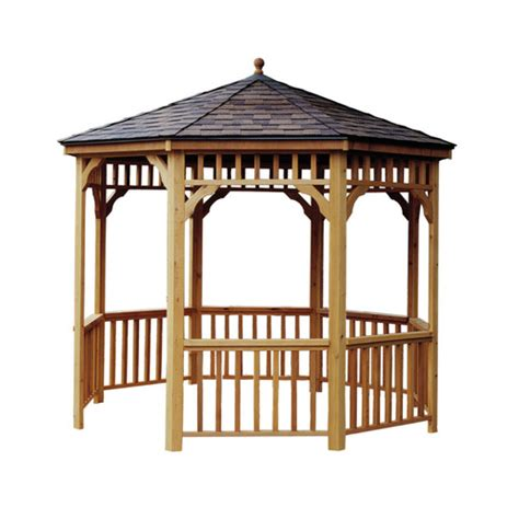 gazebo lowes wooden gazebos from lowes by cedarshed heartland gazebos