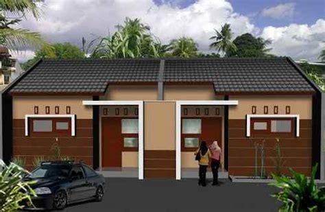 membuat rumah kontrakan inspirasi desain rumah kontrakan minimalis yang modern