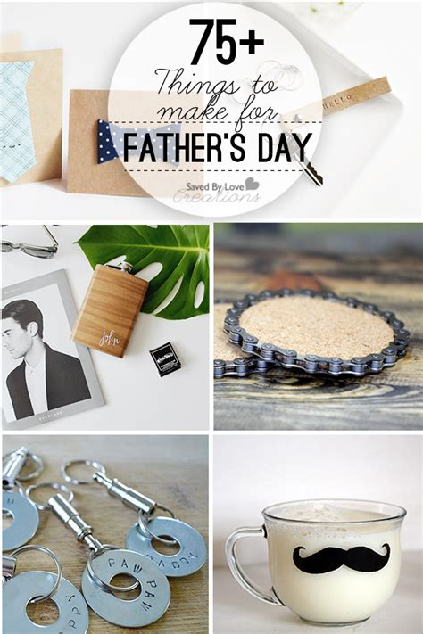 Handmade S Day Gifts - 75 diy handmade father s day gift tutorials