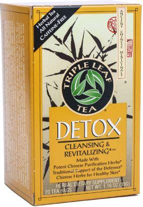 Tcm Detox Tea Pills by Detox Leaf Tea