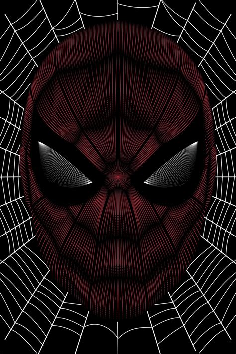 spider man homecoming vector  poster bw  color