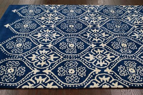 royal blue and white rug tuscan awa trellis royal blue rug what to do with a navy blue someday
