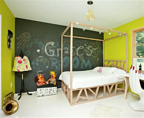 decorate bedroom with chalkboard paint decorate idea