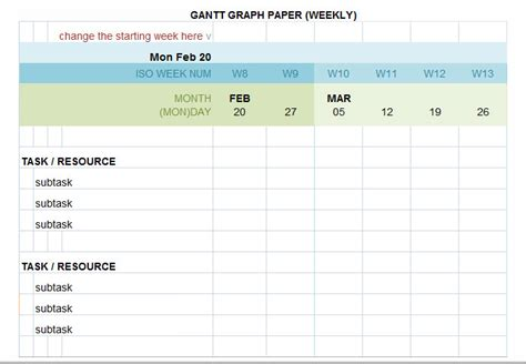 gantt chart template 5 free excel pdf documents