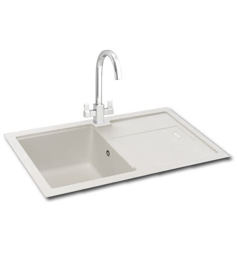 inset kitchen sink carron phoenix bali 100 granite inset kitchen sink