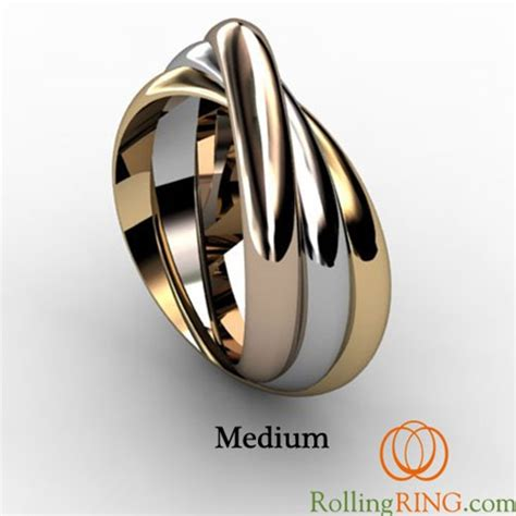 tri color ring rolling ring tricolor