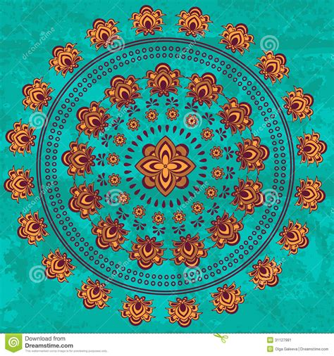 oriental mandala stock image image