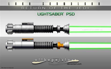Lightsaber Ls by Ahil Ls Rotj Lightsabers Psd By Jesselax On Deviantart
