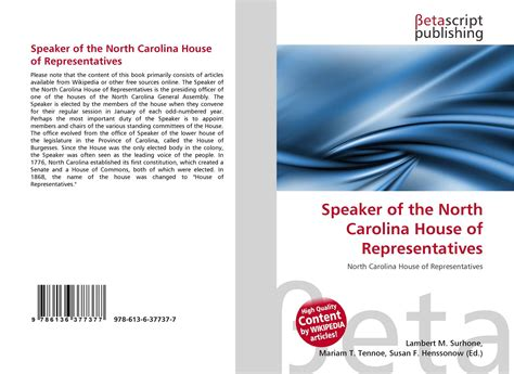 nc speaker of the house speaker of the north carolina house of representatives 978 613 6 37737 7 6136377373