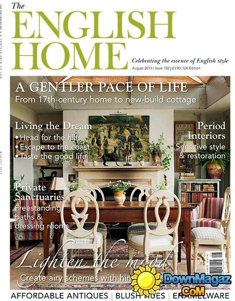 english home design magazines the english home august 2013 187 download pdf magazines