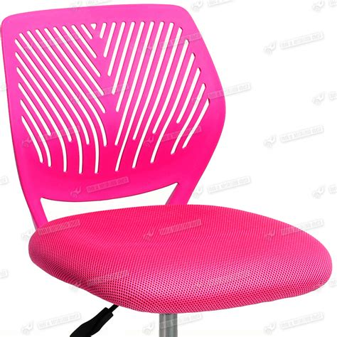 student rolling desk chair pink