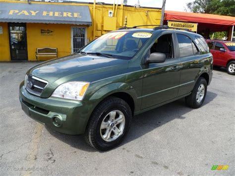 2003 kia sorento lx green metallic 2003 kia sorento lx exterior photo