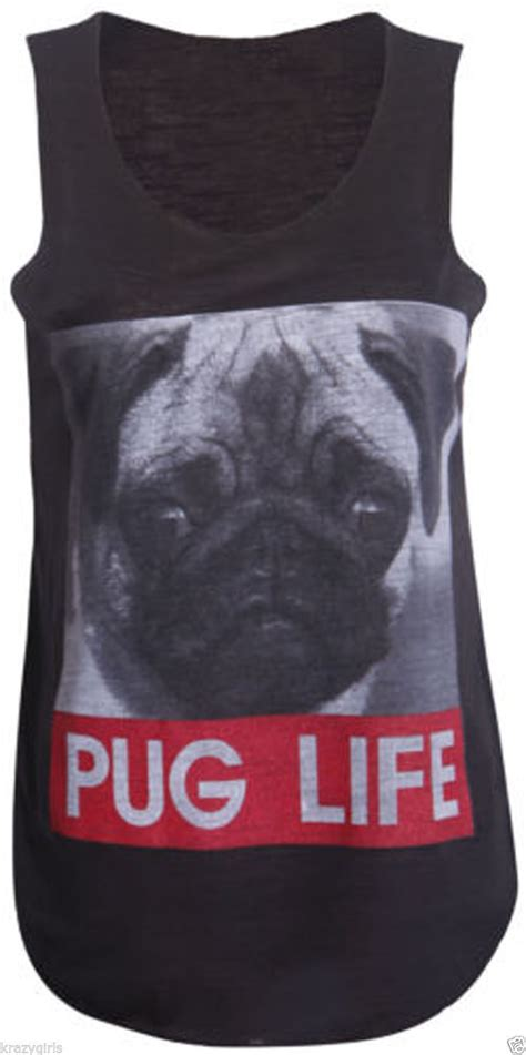 pug vest pug vest available in 2 colours i pugs
