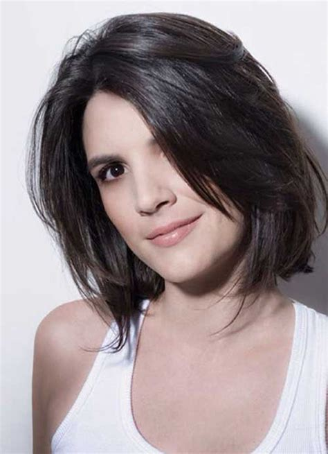 graduated bob hairstyle for round face gorgeous short hairstyles for round face shape the best