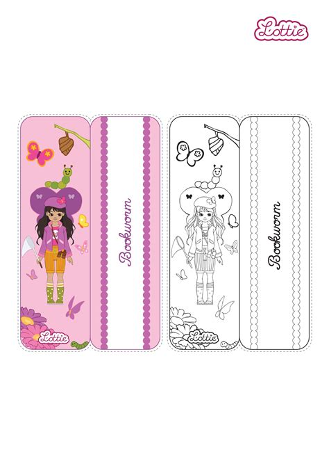 lottie doll butterfly protector butterfly protector lottie printable bookmark lottie dolls