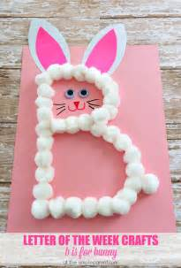 preschool letter b craft b is for bunny great for easter