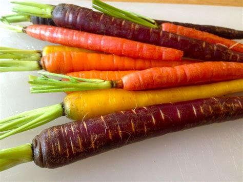 colorful carrots rainbow carrots candacecooks