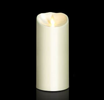 battery operated candles moving outdoor ivory resin battery operated candle 3