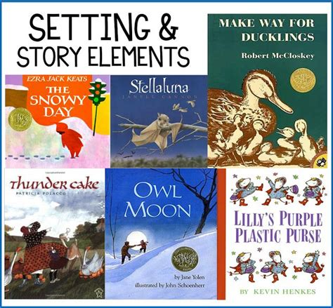 picture books for teaching setting 25 best ideas about story elements on story