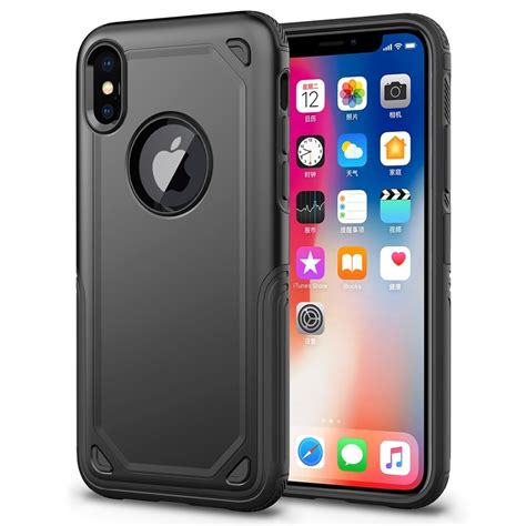 shockproof rugged tpu pc for iphone xr protective combination cover for iphone xs max