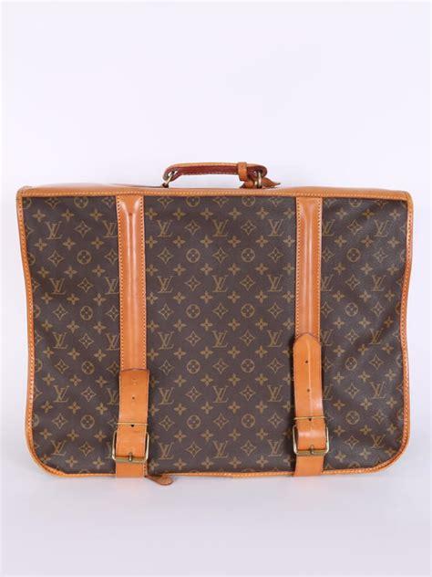 louis vuitton garment vintage monogram canvas travel bag