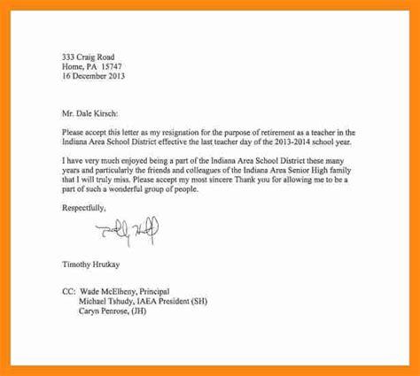 Resignation Letter Exles Professional 9 Sle Professional Resignation Letter Graphic Resume