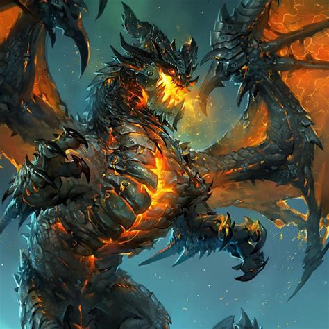 world of warcraft dawn 147676137x deathwing the destroyer dragons drag 245 es rpg e personagens