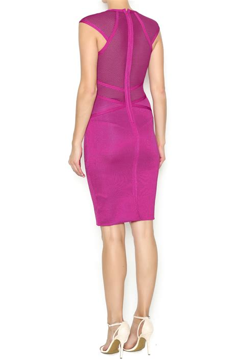 Next Pink Dress next boutique pink bodycon dress from new york by next