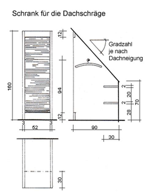 bauanleitung schrank dachschräge bauanleitung schlafsofa mit schrank f 252 r die dachschr 228 ge