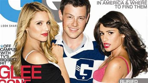 Magazine Apolgises For Photo Shoot Blunder by Gq Quot Glee Quot Photos Dianna Agron Apologizes For Racy Shoot