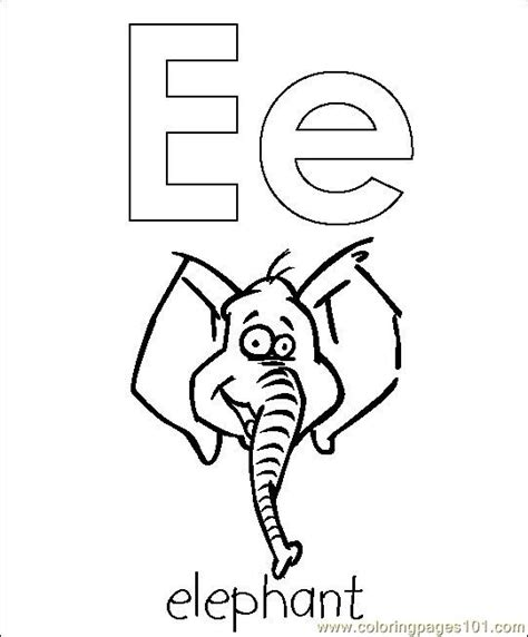 free elephant head coloring pages