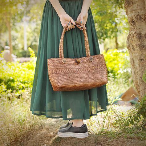 Handmade Straw Bags - 2017 bag for summer big straw bags handmade grass