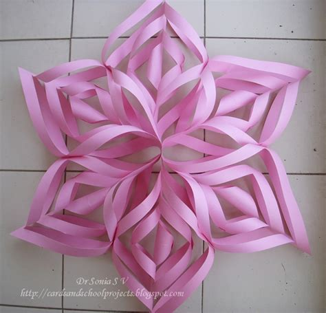 Paper Craft For Decoration - cards crafts projects paper flower tutorials 14