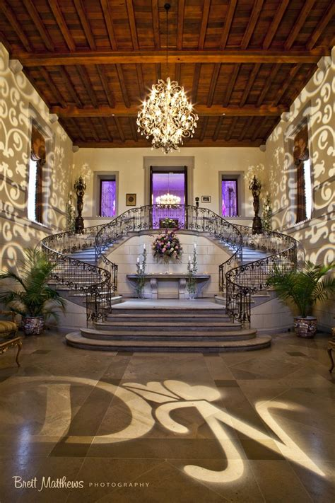 Oheka Castle Interior by Entry Foyer Grand Staircase Brett Matthews Photography
