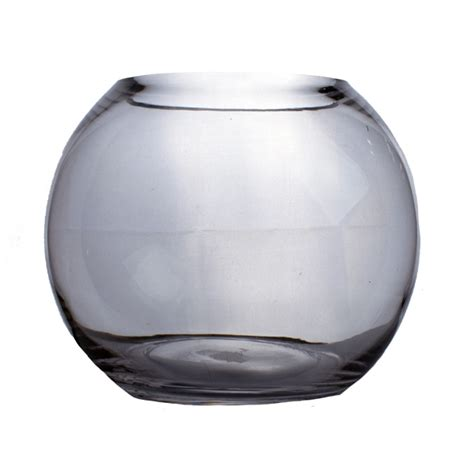 20cm Fish Bowl Vase by Glass Fish Bowl Vase 16cm X 20cm Decorations And