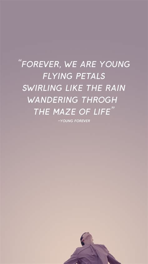 bts young forever lyrics s e l on twitter quot bts young forever lockscreen wallpaper