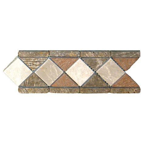 4 X 12 Slate Tile ms international listellos 4 x 12 aspen slate