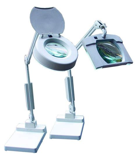 illuminated bench magnifier linear tools illuminated square round head bench magnifiers