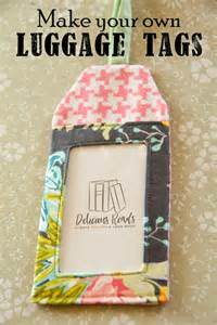delicious reads diy make your own luggage tags link to