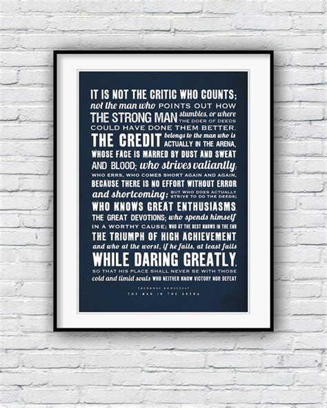 printable theodore roosevelt quotes man in the arena teddy roosevelt quotes quotesgram