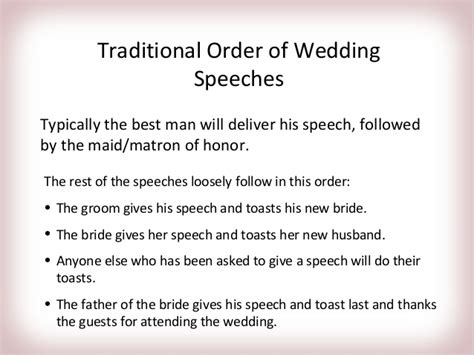 Wedding Speeches by Wedding Speech Ideas