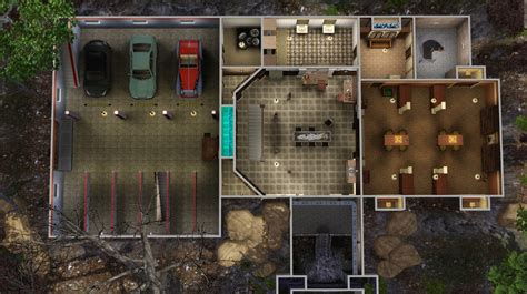 Blueprints For Houses by Mod The Sims The Men Of Letters Bunker Supernatural