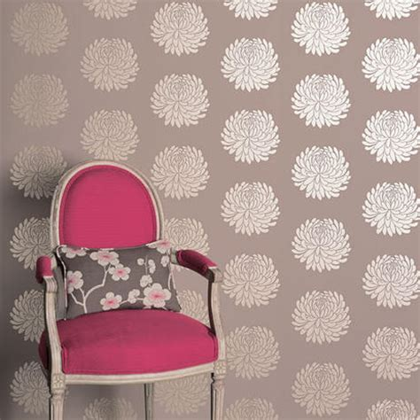 Temporary Fabric Wallpaper by Grubby Girls So Is This Going To Be Like The Death Of