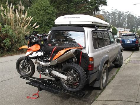 Motorcycle Rack For Car by 1000 Ideas About Suv Bike Rack On Bike Rack