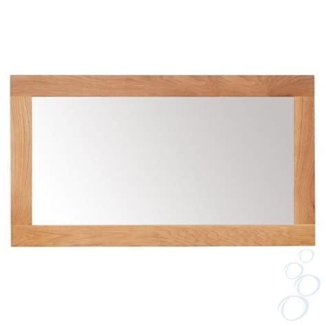 oak framed mirrors bathroom solid oak framed mirror for bathroom or hallway large