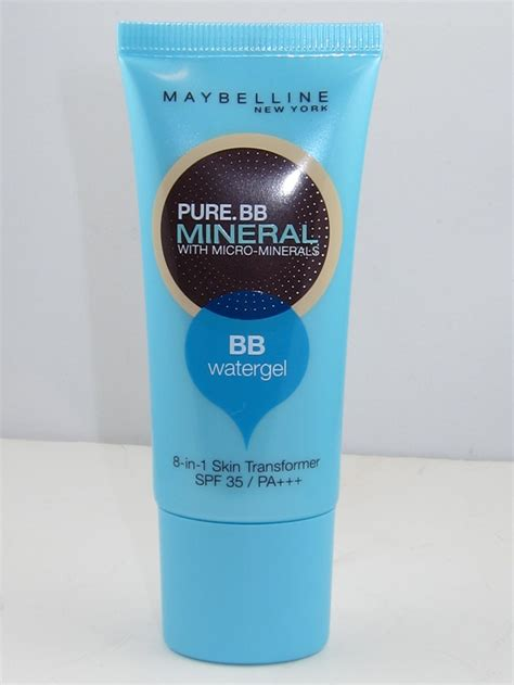 Bb Foundation Maybelline maybelline bb mineral watergel review swatches musings of a muse
