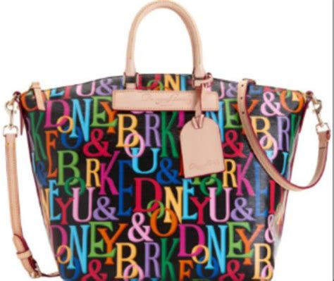 dooney and bourke colorful bag bag dooney bourke satchel colorful wheretoget